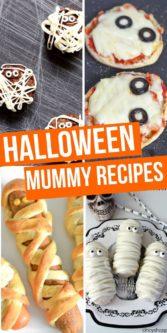 Halloween Mummy Recipes | Halloween Food | Decorative Halloween Recipes | Mummy Themed Recipes | Creative Mummy Recipes | #food #halloween #recipes #mummy #easy #creative #uniquegifter