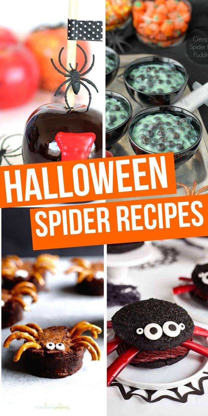 Halloween Spider Recipes
