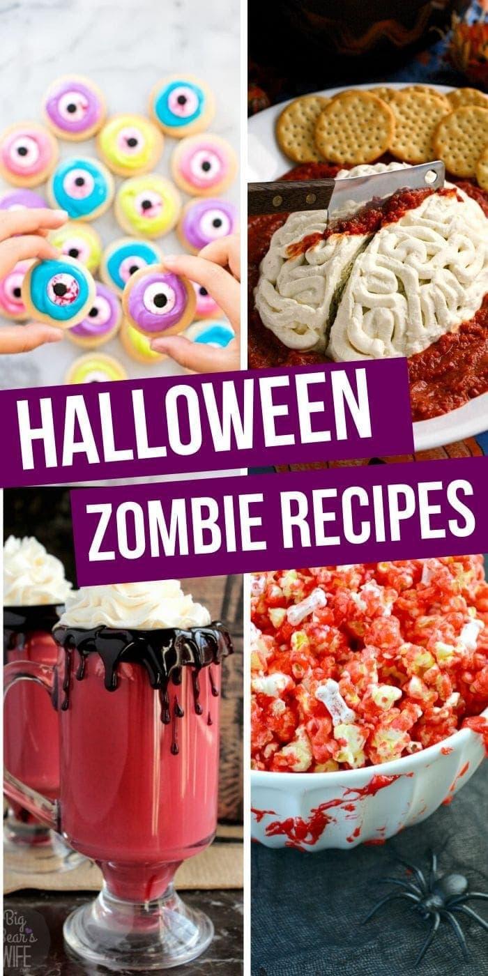 Halloween Zombie Recipes | Zombie Recipes | Halloween Treats | Spooky Halloween Treats | Scary Halloween Treats | Easy Halloween Treats | #food #halloween #zombie #creepy #easy #delicious #fun #playful #uniquegifter