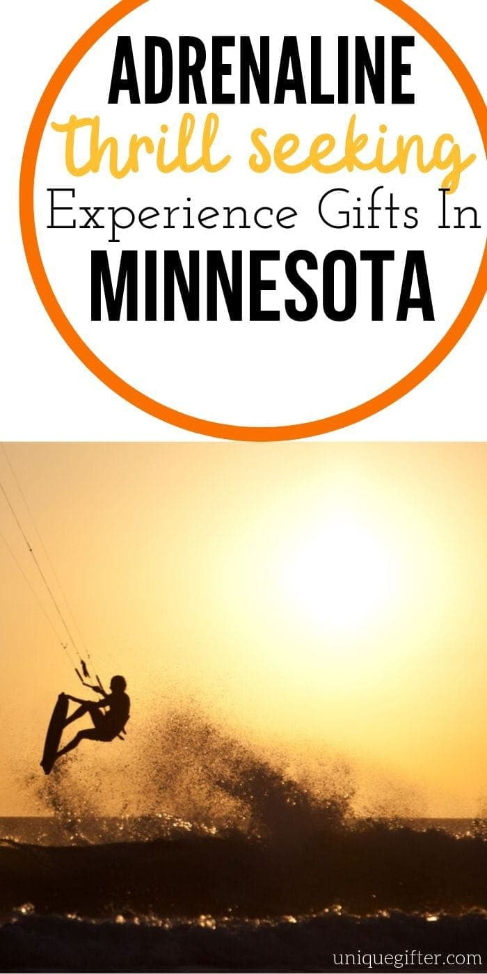 Adrenaline Junkie Experience Gifts in Minnesota | Minnesota | Gifts For Minnesota Experiences | Adventure Gifts | Experience Gifts | Unique Gifts | #experiencegifts #minnesota #excitinggifts #unique #giftguide