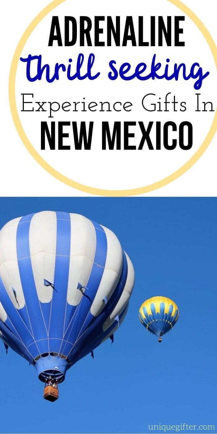 Adrenaline Junkie Experience Gifts in New Mexico | Experience Gifts | New Mexico Gifts | New Mexico Presents | Unique Gifts | Unique Presents | #gifts #giftguide #presents #uniquegifter #experience #newmexico