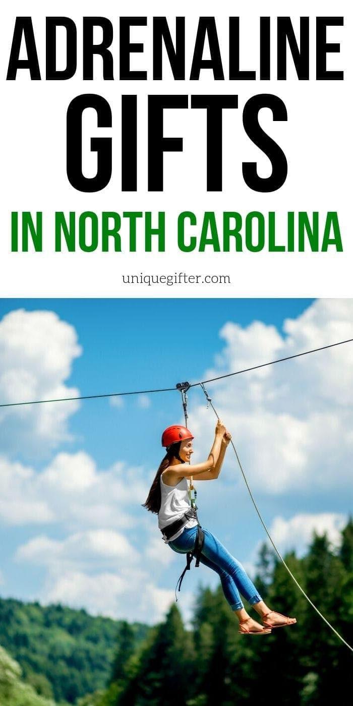 Adrenaline Junkie Experience Gifts in North Carolina | North Carolina Gifts | Experience Gifts | Experience Presents | Unique Gifts | #gifts #giftguide #presents #experiencegifts #northcarolina #unique