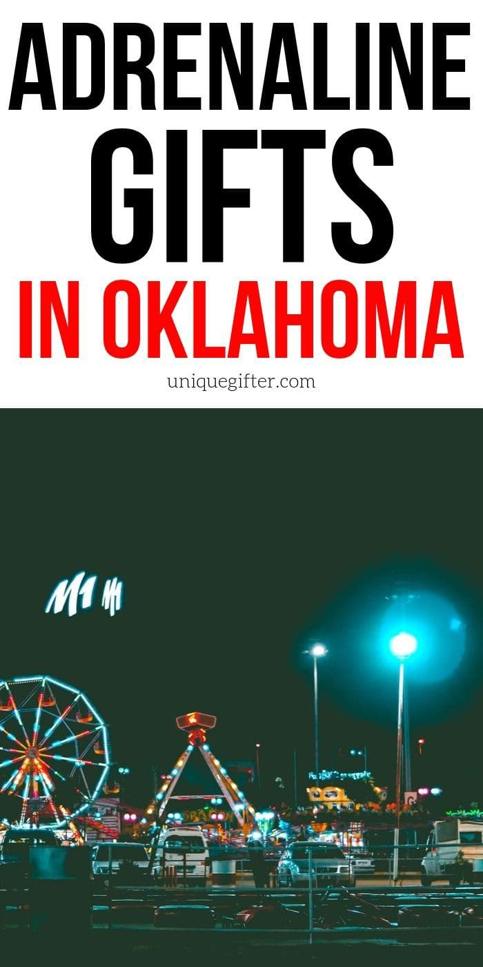 Adrenaline Junkie Experience Gifts in Oklahoma | Oklahoma Gifts | Easy Gift Ideas | Experience Gift Ideas | Creative Gift Ideas | Creative Experience Gifts | Oklahoma | #gifts #giftguide #presents #oklahoma #adventure #experience #uniquegifter