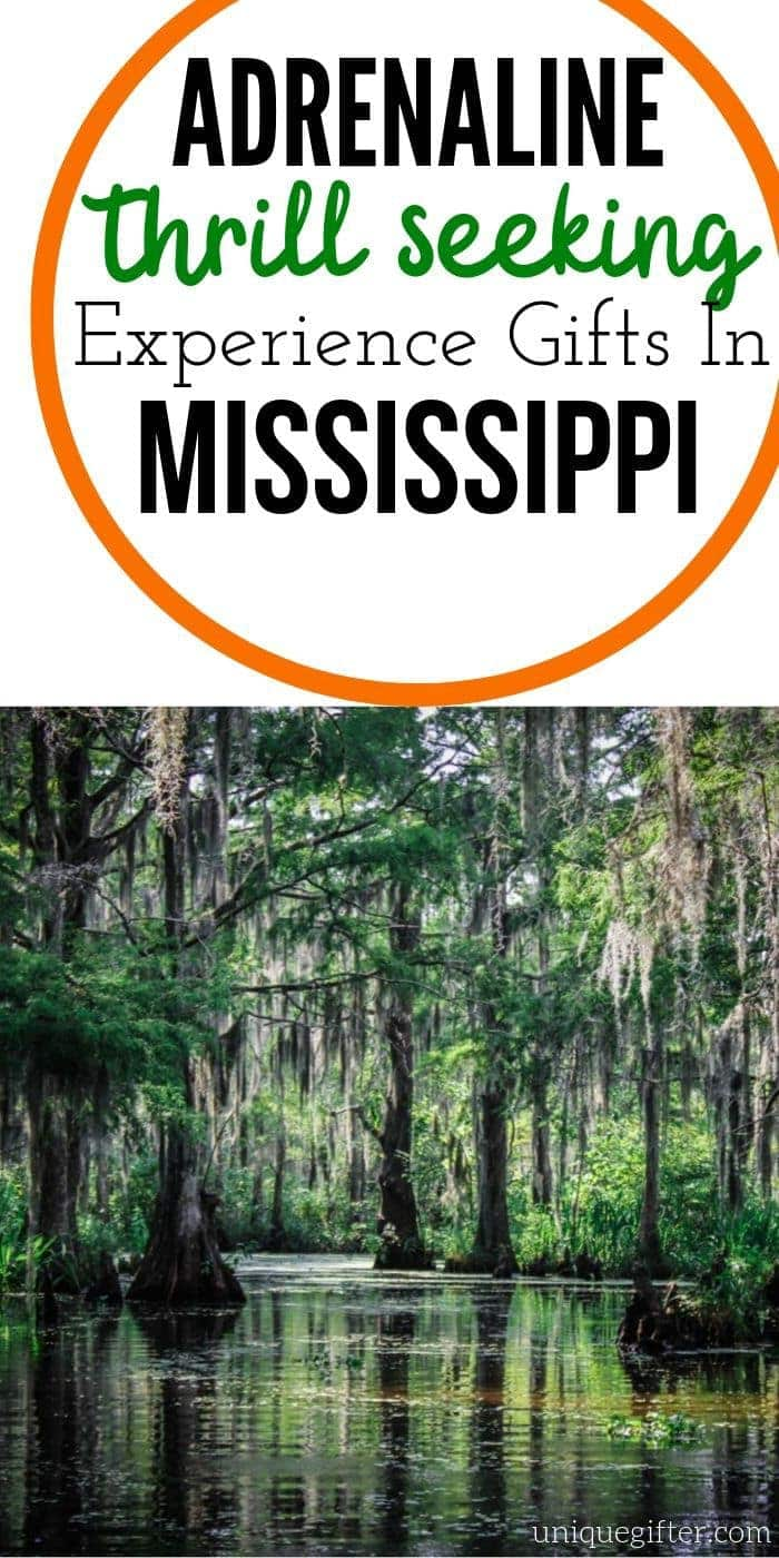 Adrenaline Junkie Experience Gifts in Mississippi | Mississippi Adventures | Experience Gifts | Creative Experience Gifts | Mississippi Gifts | Unique Gifts | #adventure #mississippi #experiencegifts #uniquegifter #creative