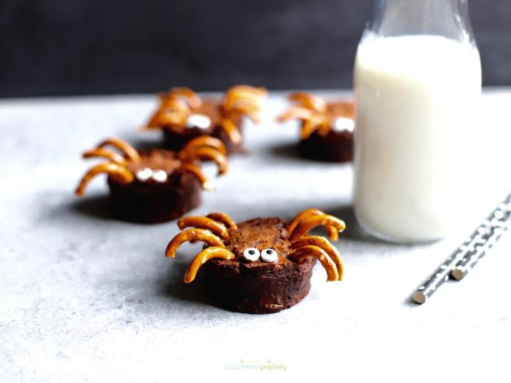 Easy Brownie Spiders