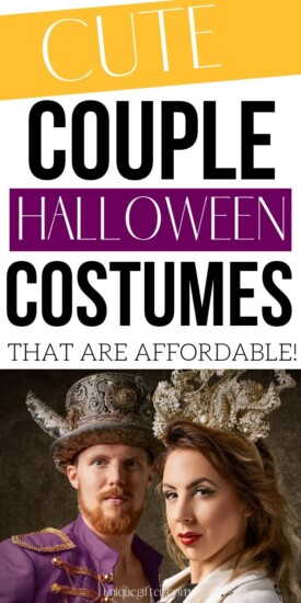 Cute Couple Halloween Costumes That Won't Break the Bank | Halloween For Couples | Couples Halloween Costumes | Cheap Halloween Ideas | #halloween #costumes #gifts #giftguide #uniquegifter #creative