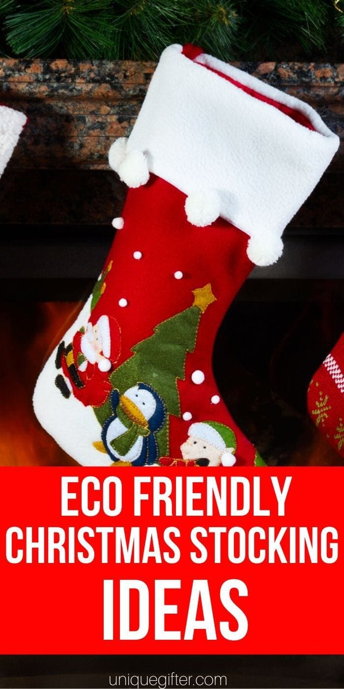 Eco-Friendly Christmas Stocking Ideas | Stocking Stuffer Ideas | Stocking Ideas | Eco-Friendly Gifts | Eco-Friendly Gift Ideas | #gifts #giftguide #presents #stocking #stockingstuffer #ecofriendly #uniquegifter