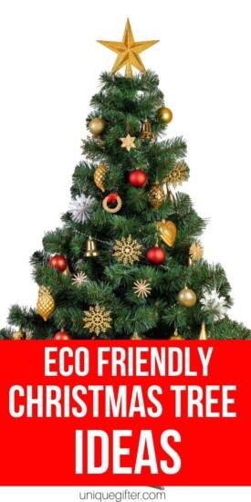 Eco-Friendly Christmas Tree Ideas