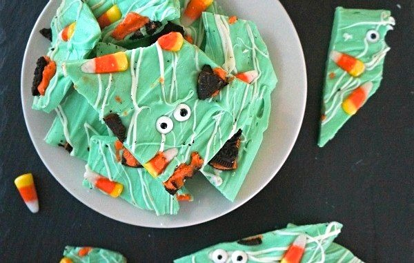 How To Make Your Own Spooky Monster Halloween Candy Bark!