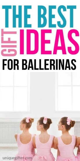 Gift Ideas for Ballerinas | Ballerina Gifts | Ballerina Presents | Creative Ballerina Presents | Unique Ballerina Gifts | Presents For A Ballerina | Gifts For A Ballerina | #gifts #giftguide #presents #ballerina #girl #boy #kids #uniquegifter #birthday #holiday