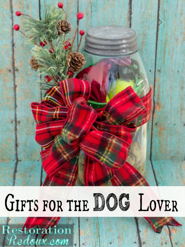 Mason Jar Gift for the Dog Lover - Daily Dose of Style