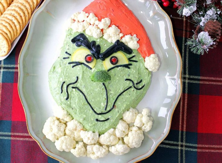 Realistic Looking Grinch Guacamole – Kudos Kitchen Style