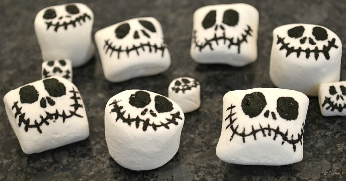 Jack Skellington Halloween Decorations that are Edible