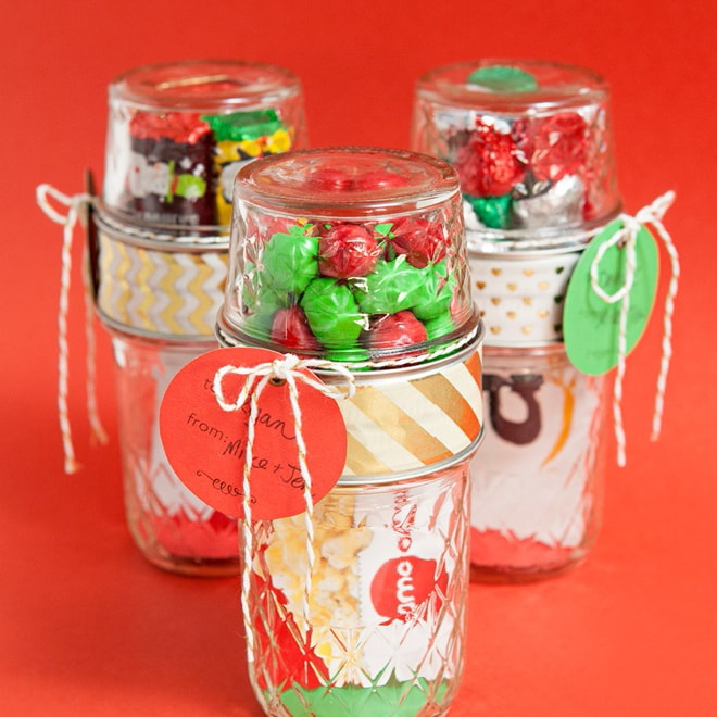 Make Your Own Double Mason Jar Gift Card Holders!
