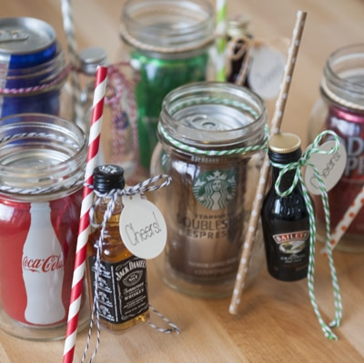 The Original DIY Mason Jar Cocktail Gifts!