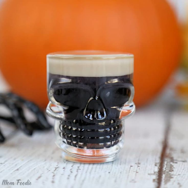 Slippery Zombie Brains: Easy Halloween Shots