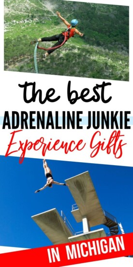 Adrenaline Junkie Experience Gifts in Michigan | Michigan Gifts | Michigan | Experience Gifts | Creative Gifts | Adventure Gifts | Adventures | #gifts #giftguide #michigan #experiencegifts #uniquegifter