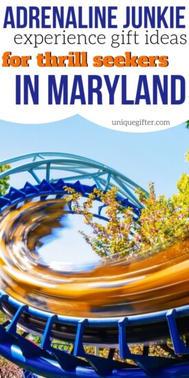 Adrenaline Junkie Experience Gifts in Maryland | Maryland Gifts | Experience Gifts | Experience Presents | Experience | Maryland | Unique Gifts | Unique Presents | #gifts #giftguide #presents #maryland #uniquegifter #maryland