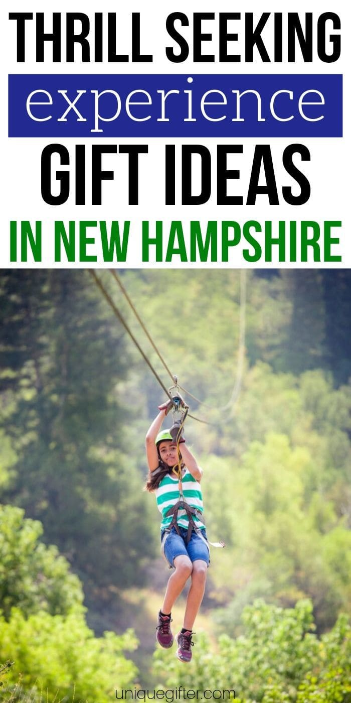 Adrenaline Junkie Experience Gifts in New Hampshire | Experience Gifts | Experience Presents | New Hampshire | New Hampshire Presents | New Hampshire Gifts | #gifts #giftguide #experience #newhampshire #presents #uniquegifter