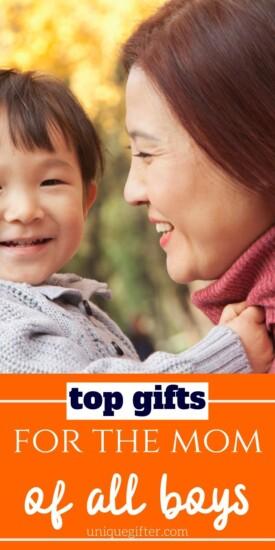 Top Gifts for the Mom of All Boys | Boy Mom Gifts | Gifts For Moms | Gift For Mama | Presents For Mom Of Boys | Gifts For Mom With Sons | #gifts #giftguide #presents #uniquegifter #boymom #sons #mom #creative