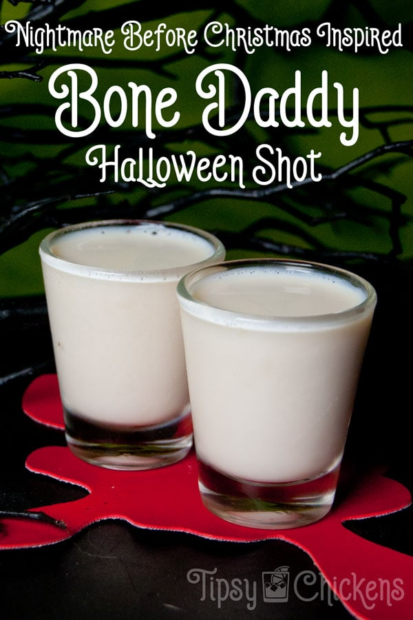 Bone Daddy - Jack Skellington Halloween Shot