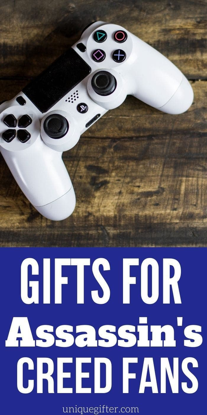 Amazing Assassin's Creed Gifts | Assassin's Creed Presents | Unique Assassin's Creed Gift Ideas | #gifts #giftguide #presents #uniquegifter #assassinscreed #christmas #birthday