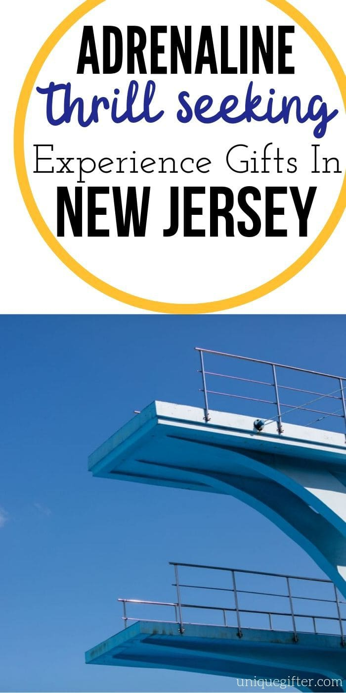 Adrenaline Junkie Experience Gifts in New Jersey| New Jersey Gifts | Creative New Jersey Gifts | Unique New Jersey Presents | Experience Gifts | #gifts #giftguide #presents #newjersey #uniquegifter #adventure #experience