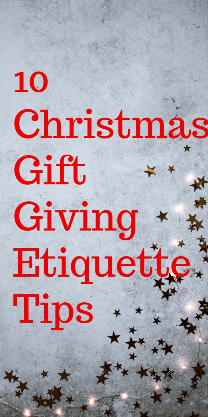 Christmas Gift Giving Etiquette Tips