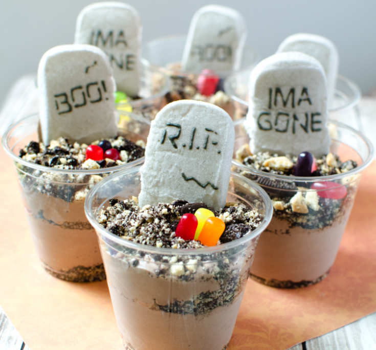 Easy Dirt Desserts for Halloween • Really, Are You Serious?