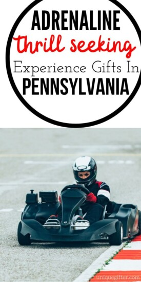 Adrenaline Junkie Experience Gifts in Pennsylvania   Pennsylvania Gifts   Creative Adventure Gifts   Experience Gifts   Experience Gift Ideas   Easy Gift Ideas   #gifts #giftguide #presents #adventure #experience #creative #uniquegifter #holidays