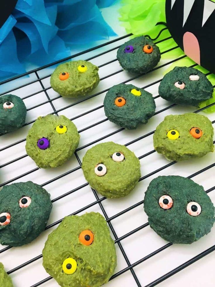 Healthy Halloween Cookies