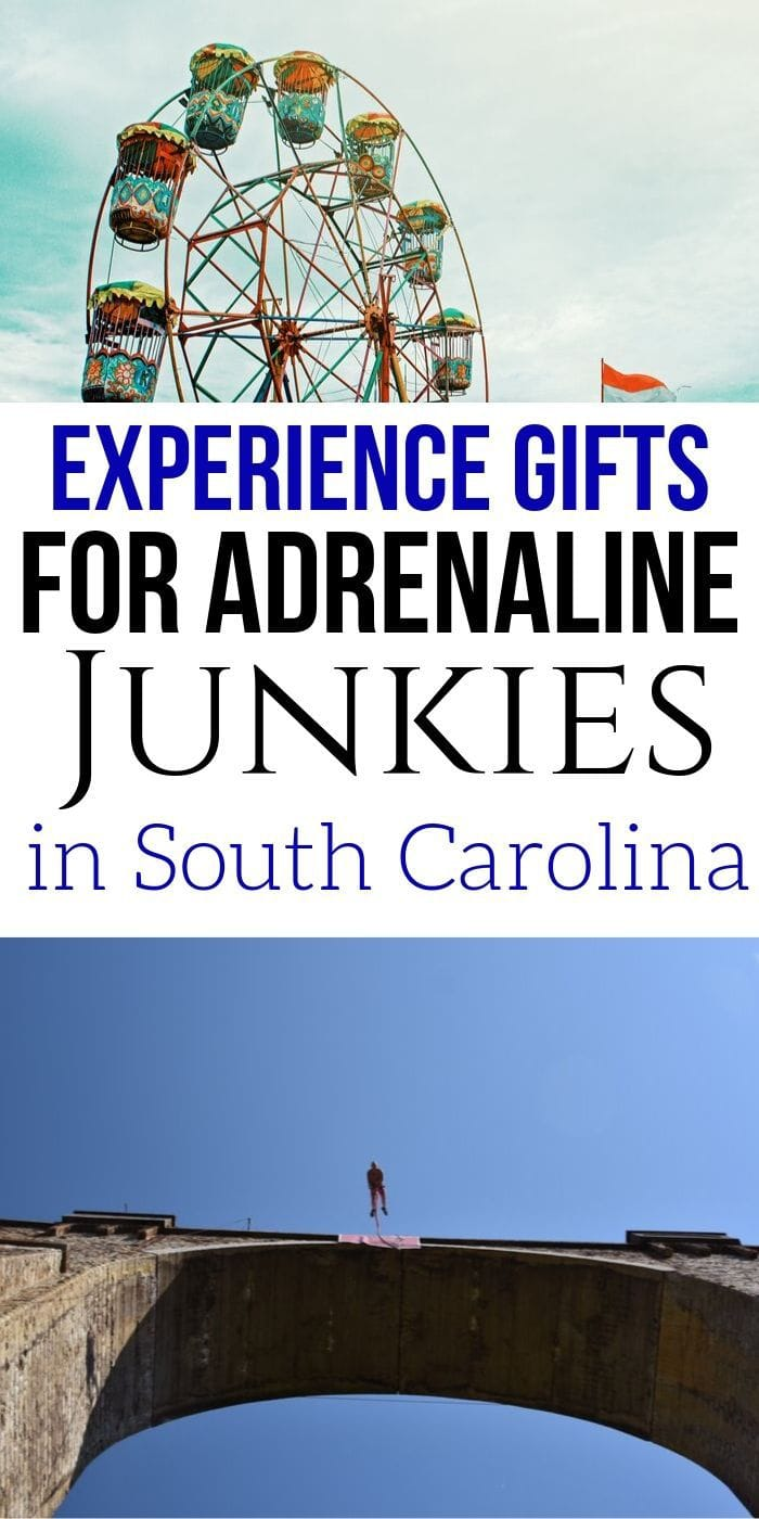 Adrenaline Junkie Experience Gifts in South Carolina | South Carolina Gifts | Gifts For People Who Love South Carolina | South Carolina Presents | Experience Gifts | Unique Gifts | Adrenaline Gifts | #gifts #giftguide #presents #uniquegifter #southcarolina #adventure #experience #creative