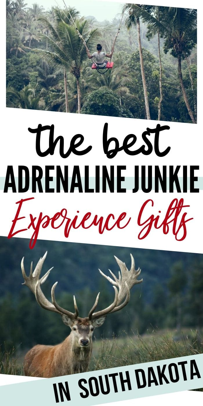 Adrenaline Junkie Experience Gifts in South Dakota | South Dakota Gifts | Creative Gifts For South Dakota | Adrenaline Gifts | Experience Gifts | Unique Experience Gift Ideas | #gifts #giftguide #experience #adrenaline #adventure #uniquegifter #creative #presents