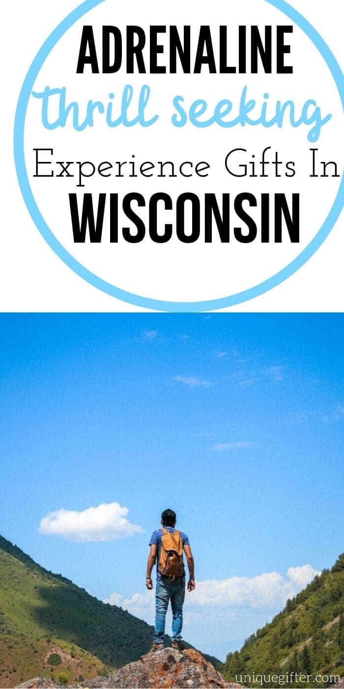 Adrenaline Junkie Experience Gifts in Wisconsin | Wisconsin Gift Ideas | Creative Wisconsin Gifts | Experience Gifts | Unique Experience Gifts | #gifts #giftguide #presents #wisconsin #uniquegifter #experience #adventure
