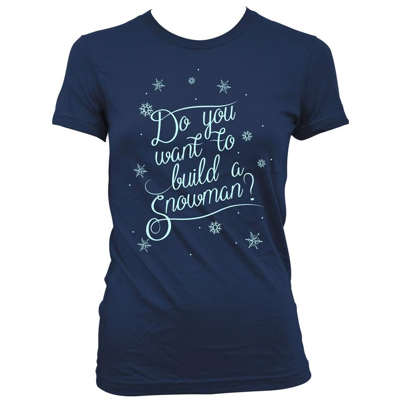 Frozen Personalised Christmas T-Shirt Ideal Gift//Present