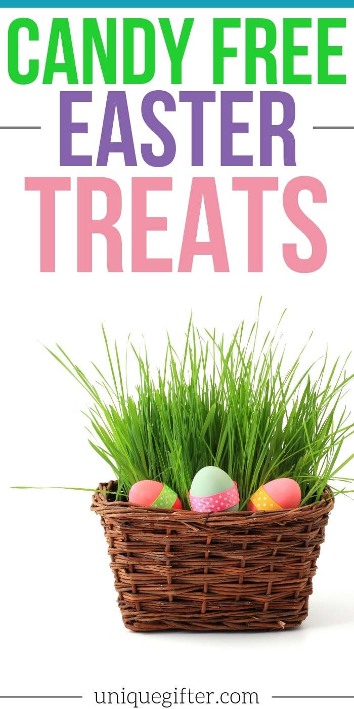 Candy-Free Easter Treats | Easter Gifts | Easter Baskets | Unique Kids Easter Gift Ideas | Easter Gifts That Aren't Candy | Non Candy Gifts | #gifts #giftguide #presents #uniquegifter #noncandy #easter