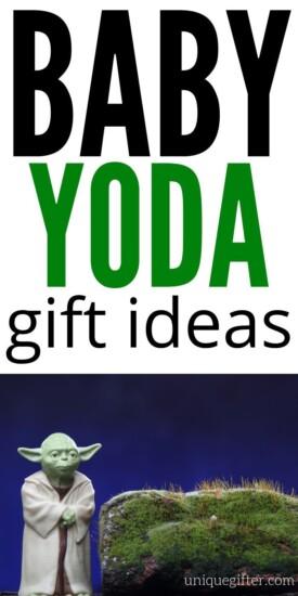 Baby Yoda gifts for fans of the Mandalorian | Baby Yoda Gifts | Baby Yoda Presents | Gifts For Baby Yoda Fans | Presents For Baby Yoda Fans | #gifts #giftguide #babyyoda #yoda #starwars #presents #uniquegifter