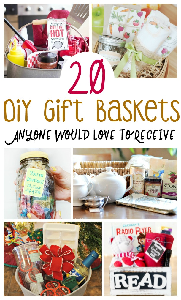 DIY Gift Baskets Anyone Would Love to Receive | DIY Gift Baskets | Unique Gift Basket Ideas | Creative Gift Basket Ideas | #gifts #giftguide #presents #giftbasket #uniquegifter