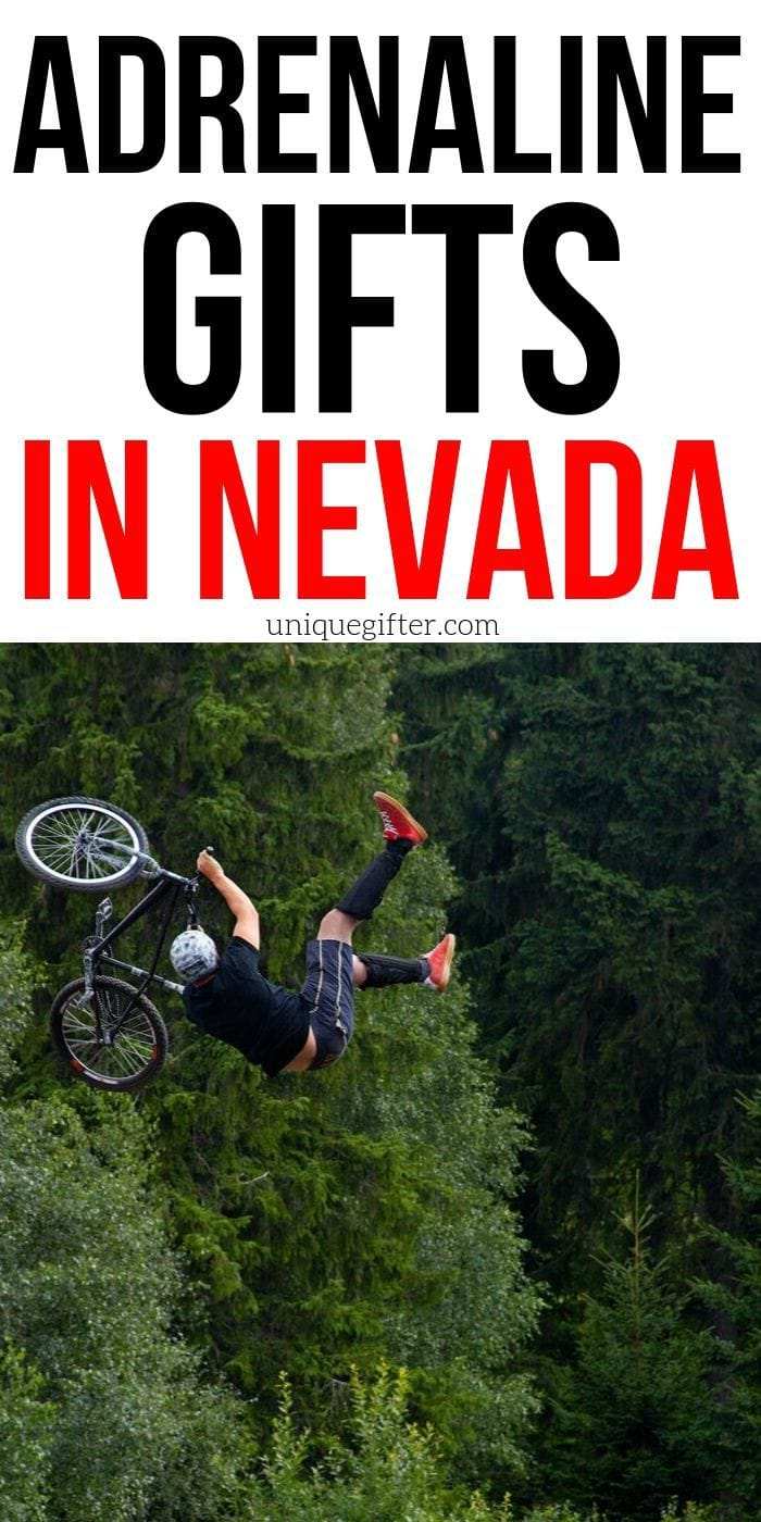Adrenaline Junkie Experience Gifts in Nevada | Nevada Gifts | Las Vegas Gifts | Nevada Presents | Unique Gifts For People In Nevada | #gifts #giftguide #experience #adventure #lasvegas #nevada #uniquegifter #presents