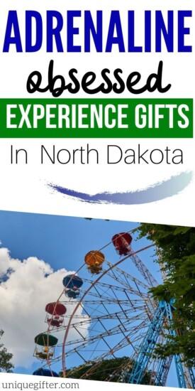 Adrenaline Junkie Experience Gift Ideas in North Dakota| North Dakota Presents | Gifts For People in North Dakota | Experience Gifts | Adventure Presents | #gifts #giftguide #presents #adventure #experience #uniquegifter #northdakota
