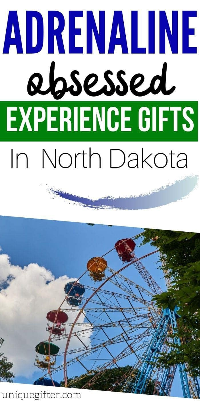 Adrenaline Junkie Experience Gift Ideas in North Dakota | North Dakota Presents | Gifts For People in North Dakota | Experience Gifts | Adventure Presents | #gifts #giftguide #presents #adventure #experience #uniquegifter #northdakota