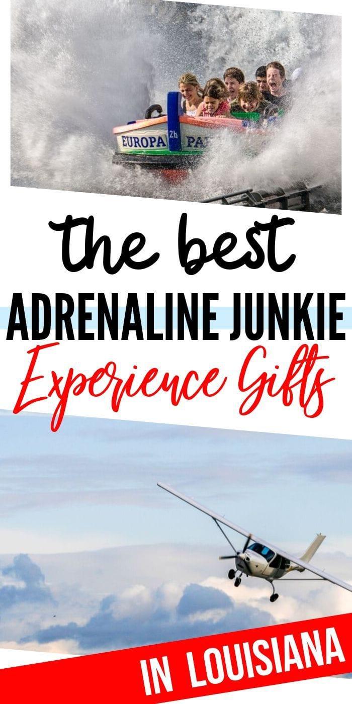 Adrenaline Junkie Gift Ideas in Louisiana | Louisiana Gift Ideas | Exciting Gifts | Unique Gifts | Adventure Gift Ideas | Experience Gifts | #gifts #giftguide #presents #experience #adventure #thrilling #uniquegifter
