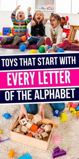 Toys that Start with Every Letter of the Alphabet | Toys For Kids | Every Letter Of The Alphabet Toys | Kids Toys That Start With Every Letter | #gifts #giftguide #presents #letter #alphabet #uniquegifter