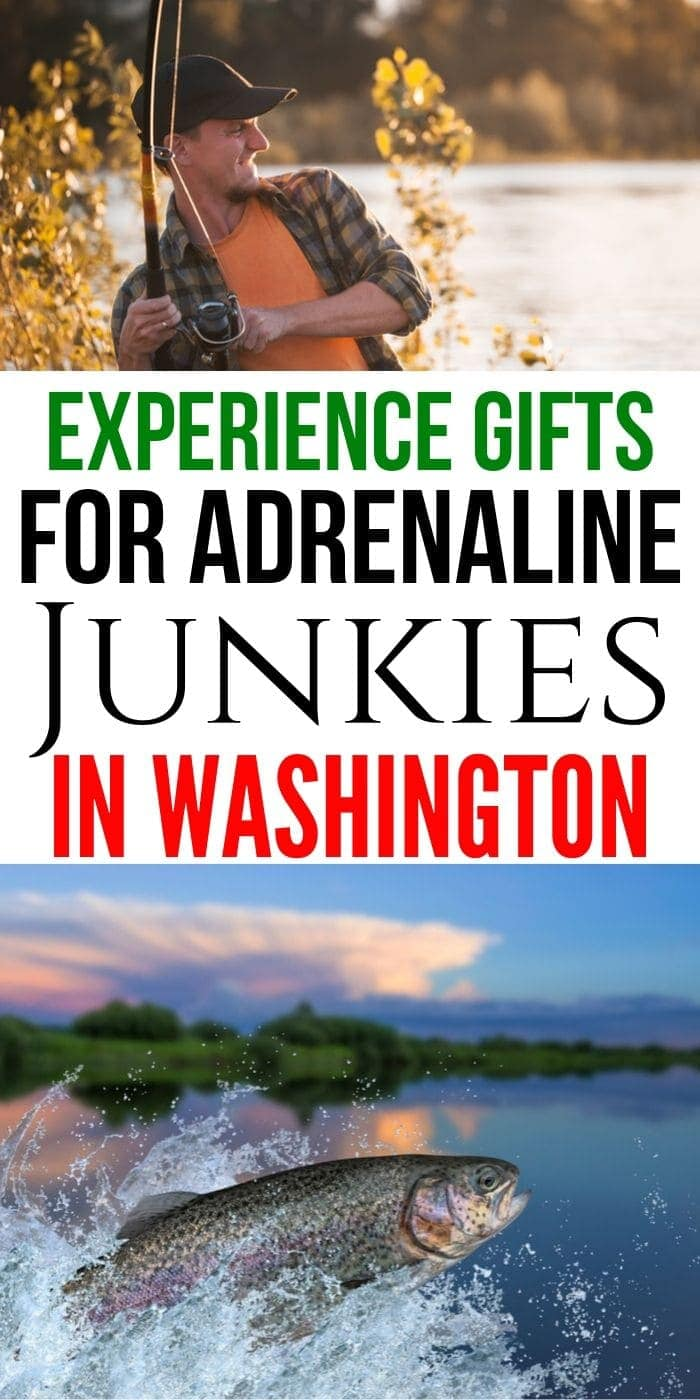 Adrenaline Junkie Gift Experiences in Washington | Washington Gifts | Adventure Gifts For People In Washington | #gifts #giftguide #presents #washington #experience #adventure #uniquegifter