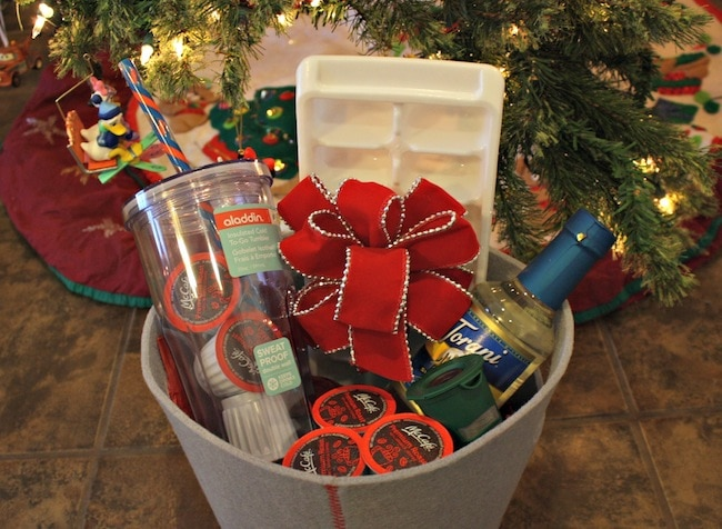 Iced Coffee Gift Basket Ideas