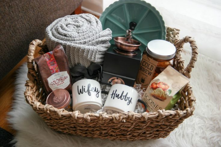 A Cozy Morning Gift Basket- A Perfect Gift For Newlyweds | My Mountain Wild