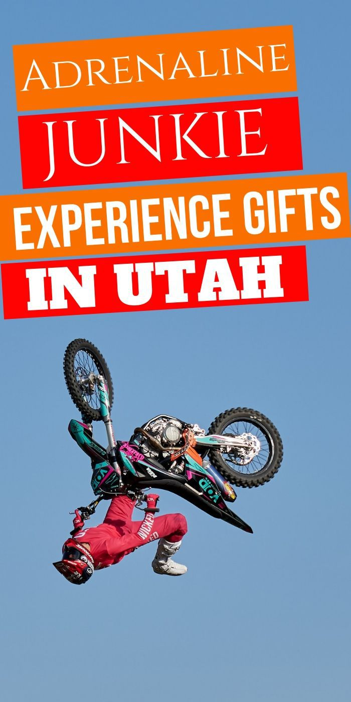Adrenaline Junkie Experience Gifts in Utah | Utah Gifts | Adventure Gift Ideas | Presents For Utah Lovers | Utah Presents | #gifts #giftguide #adventure #experience #uniquegifter #utah