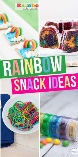 15+ Rainbow Snack Ideas | Rainbow Food Ideas | Party Planning Food | Rainbow Food For Parties | Snacks For School | Party Snacks | #food #snacks #rainbow #creative #party #easy #uniquegifter