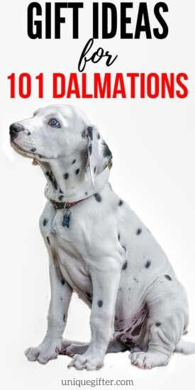 Gifts For 101 Dalmatians Fans   Gifts For Dalmation Fans   Disney Fanatic Gifts   Creative 101 Dalmation Gifts   #gifts #giftguide #presents #unique #creative #dalmations #uniquegifter