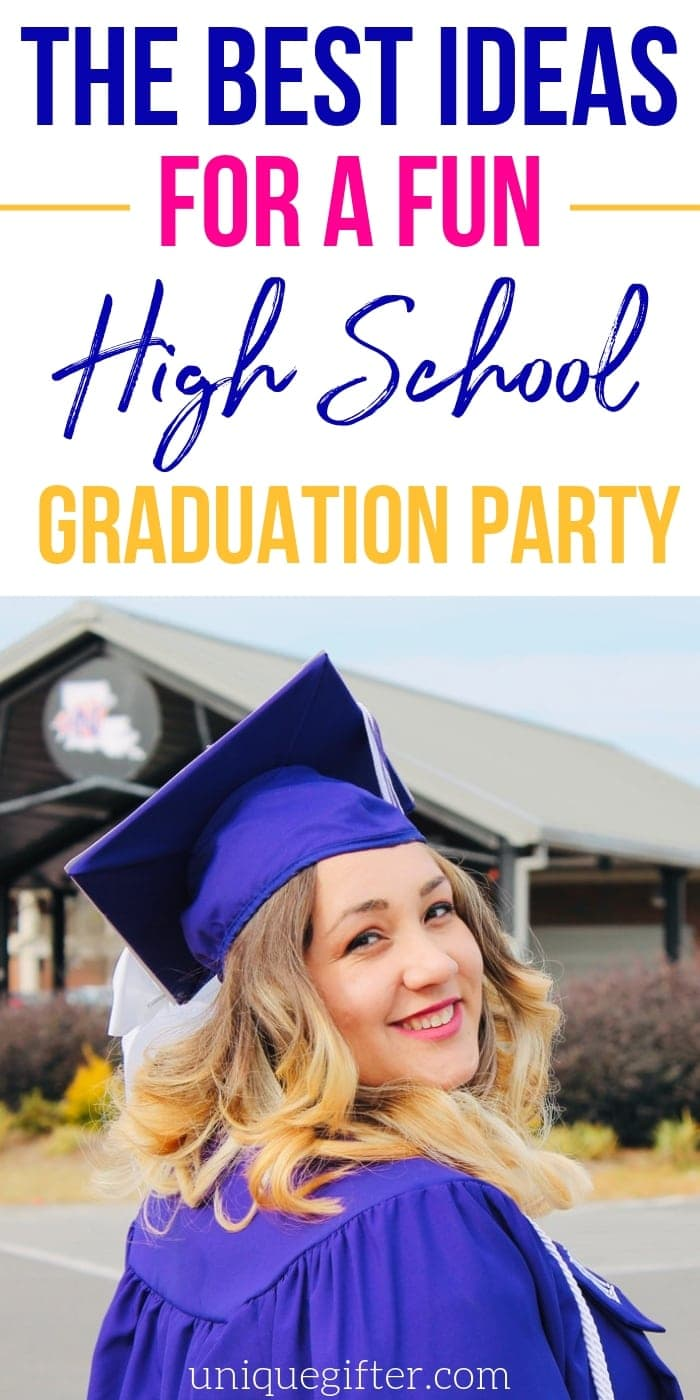 The Best Ideas for a Fun High School Graduation Party | Graduation Parties | Epic Graduation Party | Amazing Graduation Party | Creative Party Ideas | Graduation Parties | #parties #graduation #unique #creative #best #easy #fun #uniquegifter